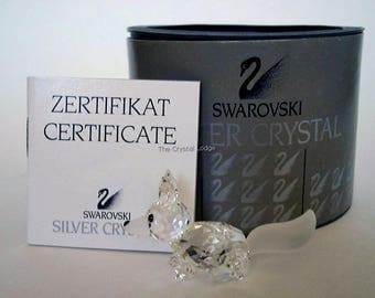 SWAROVSKI Crystal Fox-Crystal Fox-Swarovski Small Fox-Vintage Crystal Fox-Swarovski Fox-Vintage Fox-Swarovski Animals-Silver Bay Crystals