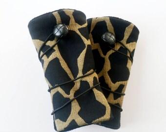 Fingerless gloves arm warmers savage style version