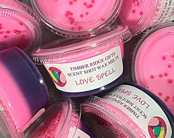Candle Tarts - Soy Wax Melts - Love Spell - Wax Melts - Wax Tarts - Wax Cubes - Scented Wax Tarts - Soy Wax Tarts - Scents - Candle Melts