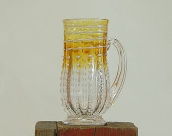 Hand blown Glass Mug