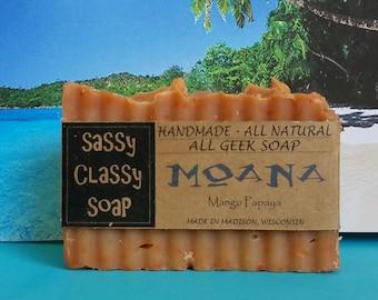 Moana All Natural All Geek Handmade Soap