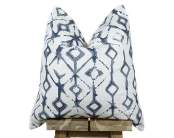 Designer Pillow Cover | 'Bluefields'