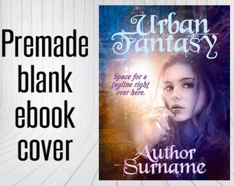Premade Blank Book Cover - Fae Eyes