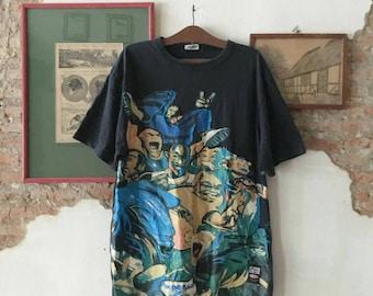 Vintage CONART Printed T Shirt