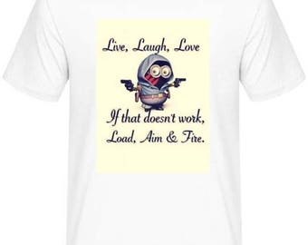 Love laughter custom tshirt