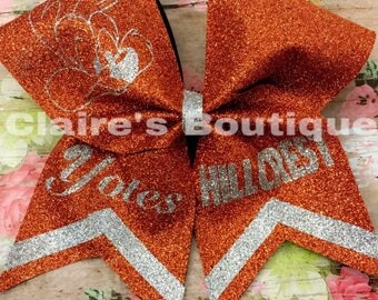 Hillcrest Cheer Bow (Orange)