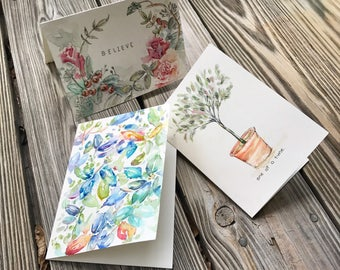 Handcrafted Cards (Set of 10)