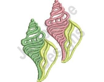 Sea Shells - Machine Embroidery Design