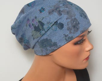 BEANIE/Hat colorful design fashionable practically comfortable ideal even when chemotherapy alopecia hair loss chemo Cap
