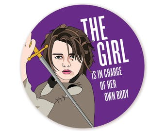 Feminist Arya Sticker