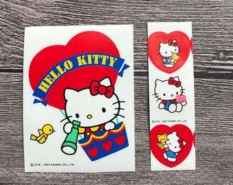 sanrio vintage sanrio stickers vintage hello kitty stickers