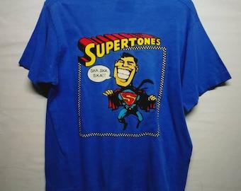 Vintage 90s Supertones ska t-shirt M