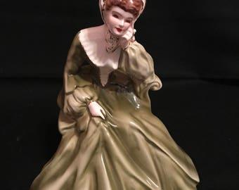 "Vintage Florence Ceramics ""rebecca"" figurine"