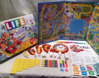 Milton Bradley Game of Life Complete Excellent Condition FREE SHIPPING