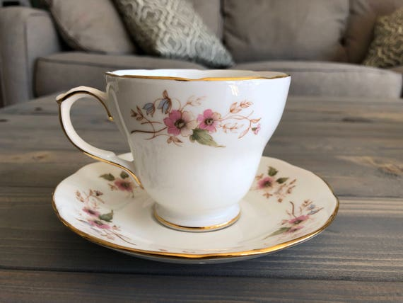 Duchess Bone China Teacup and Saucer Set,