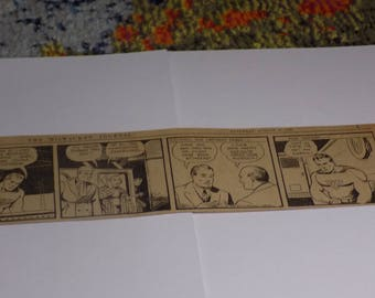 ORIGINAL SUPERMAN Daily Comic Strip - The Milwaukee Journal, Saturday, August 12, 1939 - 25% Off!