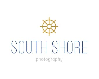 Photographer Logo - Nautical Logo - Premade Logo - Professional Logo - Business Logo - Small Business Logo - Minimal Logo - Custom Logo