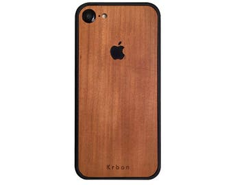 Iphone case 7 solid wood