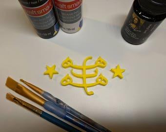 DIY Baha'i Symbol (Small)
