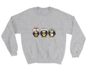 Three Wise Penguins - Sweatshirt