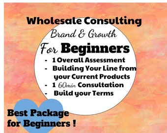 Wholesale Brand Consulting, Wholesale Assistance, Wholesale Planning, Wholesale Consulting, Product Pricing Assistance, Wholesale Help