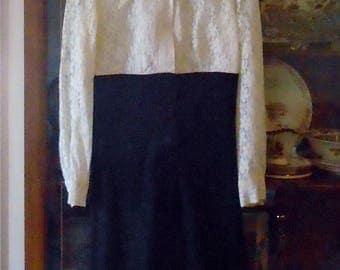 1967 Black and white Dress