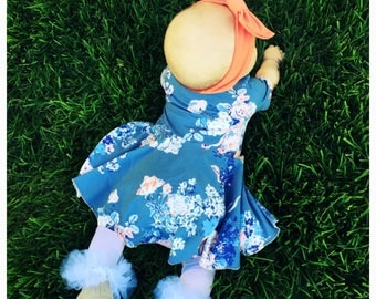 Peplum baby dress, bodysuit dress, baby girls dress, baby gift ideas, modern baby girl clothing, baby dresses, peplum baby dress