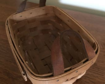 LONGABERGER BASKET made in USA