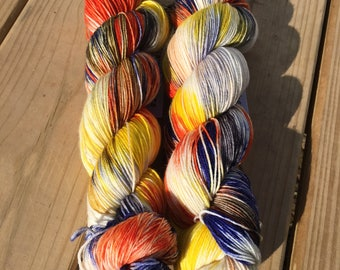 Guardian Faction | Hand Dyed Yarn | Indie Dyed Yarn | Destiny 2 Inspired Yarn