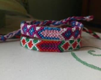 Diamond Braid Friendship Bracelets