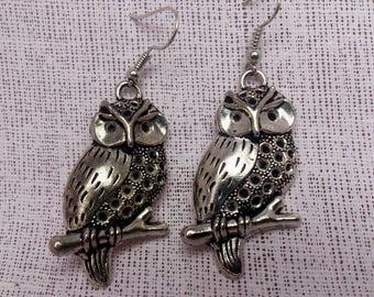 Antique Silver Earrings/Silver Boho Earrings/Boho Earrings/Etched Earrings/Bohemian Earrings/Mothers Day Gift/Gift For Her