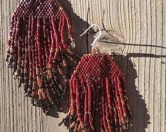 Miyuki beads earrings