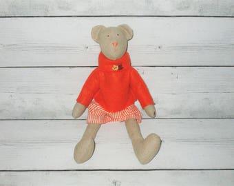 Tilda bear, soft toys,handmade bears, stuffed bears,children gift