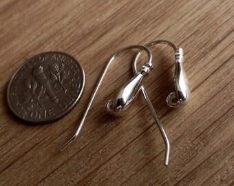 Luxury, Sterling Silver, Hooks, earwires, Earrings,Findings