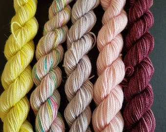 Strictly come dancing mini skein collection