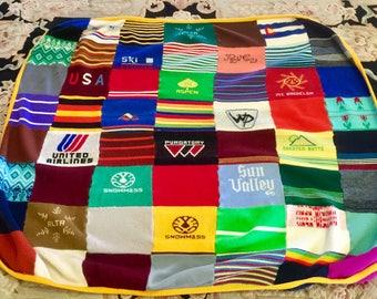 UniQue Skier's Throw Blanket