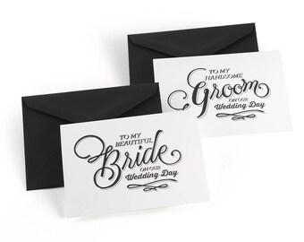 Wedding Day Card Set