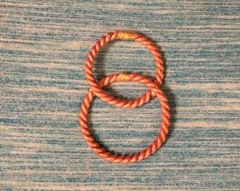 Quarter Royal 144 MHZ and Quarter Lost 177 MHZ Tensor ring(Vesica Piscis)