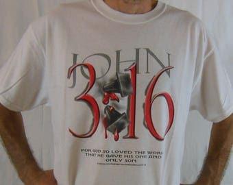 John 3:16 Christian t-shirt-Jesus t-shirt-evangelizing t-shirt-church tee-God t-shirt-Christian tee-Christian shirt-gospel t-shirt-religious