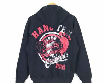 Rare!! Vintage Hang Ten Hoodie Size M