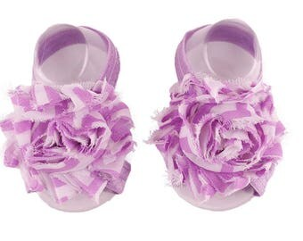 Purple Flower Band Sandals