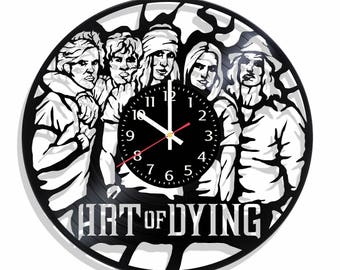 Art of Dying rock band wall clock, Art of Dying wall poster