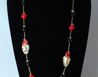 Traditional Sicilian Amphorae Necklace
