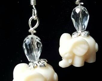 Elephant Dangle Earrings