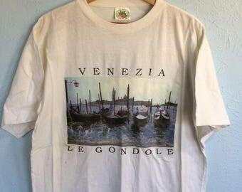 Venice Venezia White t-shirt Size L