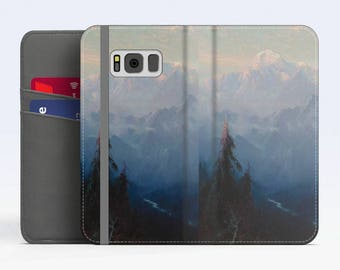 "Sydney Laurence, ""Mount McKinley"". Samsung S8 Wallet case. Galaxy S7 wallet case. Samsung Galaxy S6 wallet case. iPhone Wallet cases."