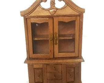 Belief in Dollhouse miniature wooden Doll's House