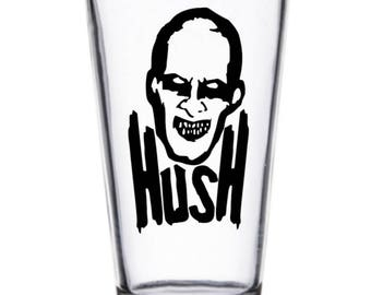 Buffy the Vampire Slayer Hush Gentlemen Pint Wine Glass Tumbler Alcohol Drink Cup Barware Halloween Merch Massacre