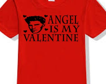 Buffy the Vampire Slayer Angel Angelus Valentine's Day True Love T Shirt Clothes Many Sizes Colors Custom Horror Halloween Merch Massacre