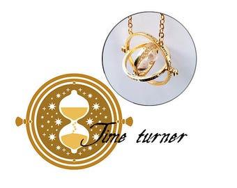 Time Turner Necklace Gold